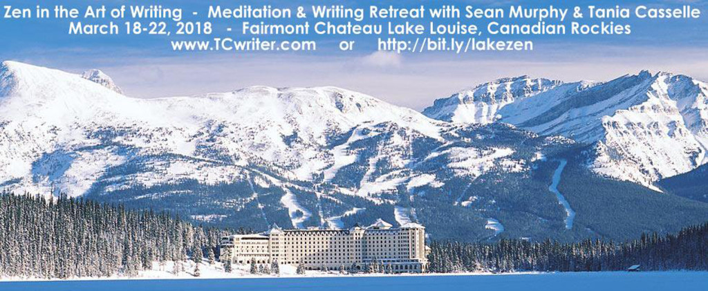 LakeLouise 2018 Writing and meditation Workshop