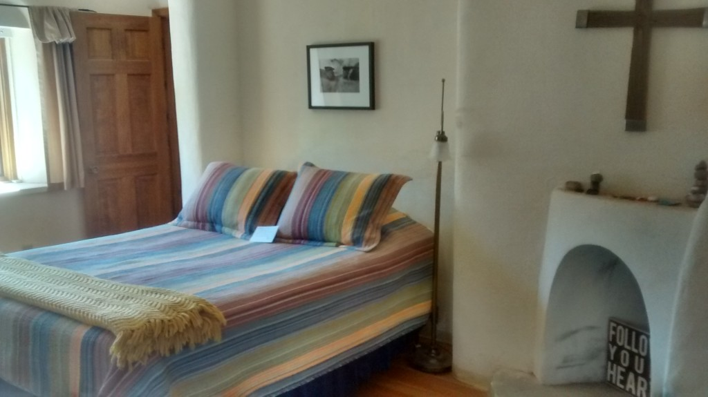 Room at casa del sol ghost ranch writing retreat